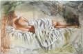 Contemporary fresco painting