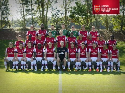Arsenal 2012-2013