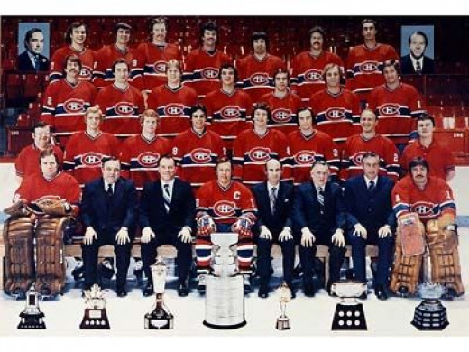 Montreal Canadians 1978 Hockey Hall Of Fame