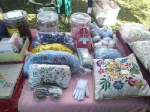 A few of my handmade, naturally scented items - photo