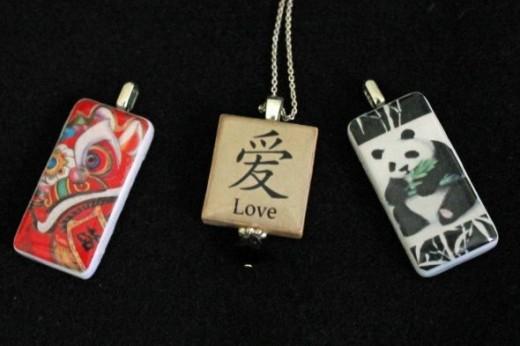Pendants--Chinese jewelry