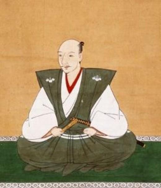 16th Century Portrait of Oda Nobunaga