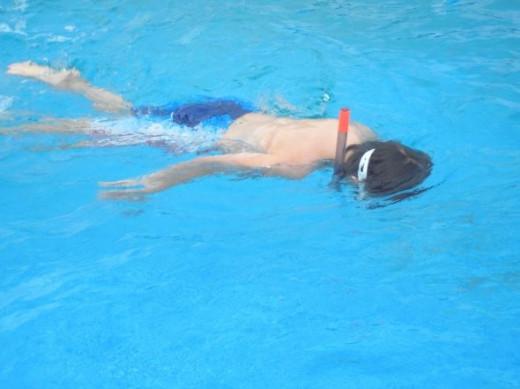 More snorkeling