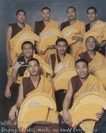 Phuntsok Tsondue, Lobsang Tenzin, Tenzin Legdup,Tenzin Legden, G Dakpa Tenzin, G Dakpa Kalsang, G Thupten Jamyang, Lobsang Tsultrim, Ngawang Tsultrim