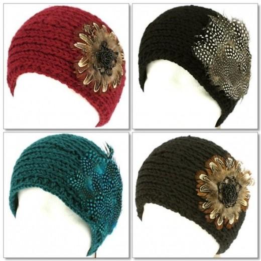 Feather Headwraps Courtesy of skhatshop.com