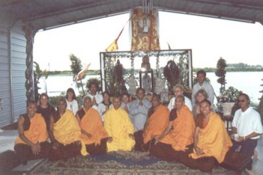 Shrine of Avalokiteshvara. Ft.Pierce, FloridaOctober 2000