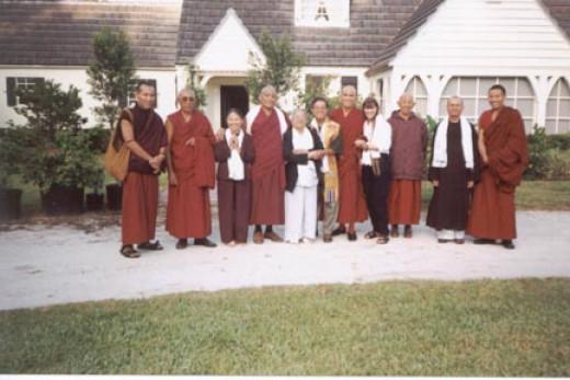 Pasang Gelek,G Sonam Thondup, Anh Tuyet Le,Tulku Jampa Rinpoche,Dr.Le Mom,Dr.Le, G Pema Norbu, Risha, G Tsepak Dorjee,Thich HanhTuan,LobsangThenley