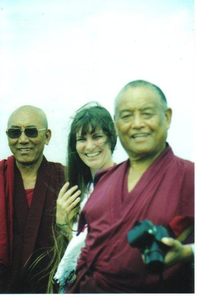 Geshe Sonam Thondup, Risha, Tulku Jampa Rinpoche