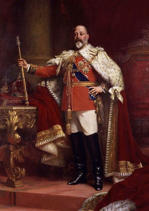 King Edward VII, National Portrait Gallery London  Public domain in US