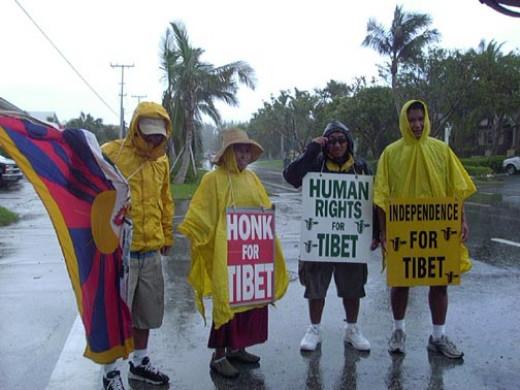 Walk For A Free Tibet