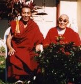 Khenchen Rinpoche & Lama Chimed