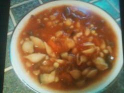 My Vegetarian Minestrone Soup