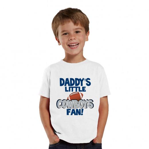 Daddy's little COWBOY fan