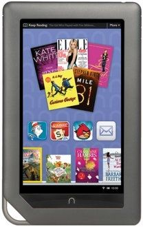 Nook Color via Barnes & Noble