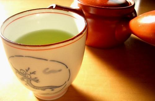 Enjoy a cup of Green Tea