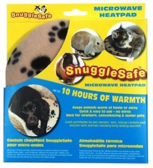 snugglesafe pet heating pad