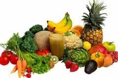 A healthy vegetarian diet consists of a wide range of live foods.