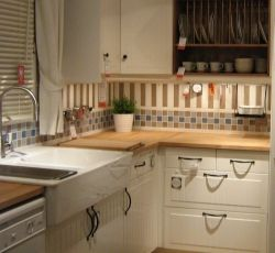 Striped kitchen wall tile - photo kevinw1