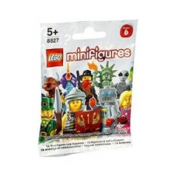 Series 6 Lego Minifigure Mystery Bag