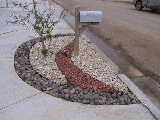 "Rock ""garden"", no green thumb required"