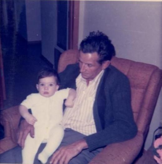 Charlie Hogg & granddaughter Teresa