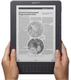 Image: Kindle DX Courtesy Of Amazon.com