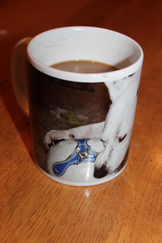 What a mug.