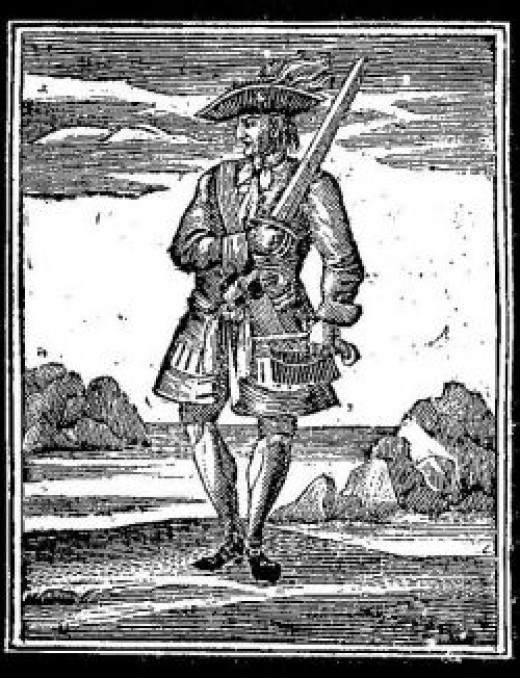 An 18th Century Woodcut
