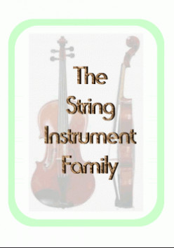 Orchestra: The String Family Lapbook Unit