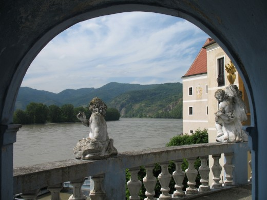 Danube River seen from Durnstein