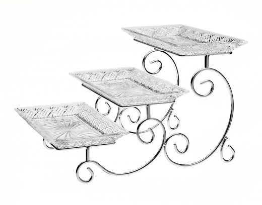 Beautiful 3 Tier Serving Tray