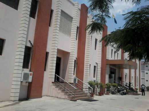 College Building, Jaipur St Xavier's College, Rajasthan
