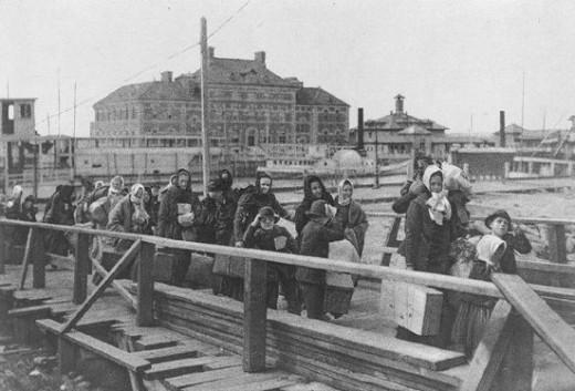 Ellis Island - 1902