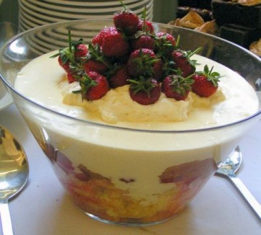 Surprise Your Guests withA Fancy Holiday Trifle
