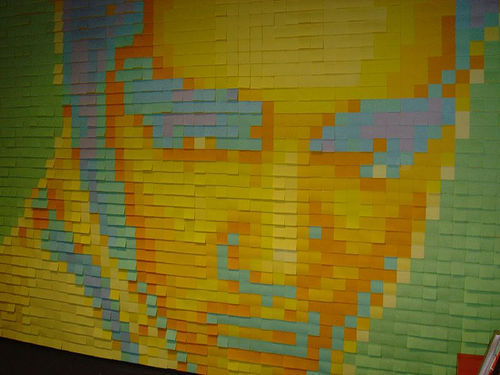 Post Its Have Many Uses:  Check Out The Post It Artwork