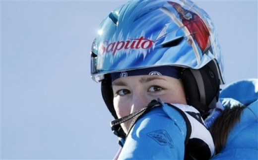 Chloe Dufour-LaPointe - Born December 2, 1991 in Montreal, at age 11, Chloe took part in her first moguls freestyle skiing competitions at the Mont-Tremblant club. After winning several gold medals on the provincial circuit, Chloe joined the Quebec F