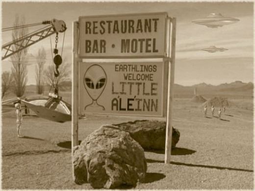 An example of cashing in on the Roswell theme.