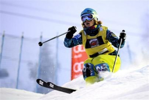 Kristi Richards is BC born, and has been competing in Freestyle Skiing - Moguls for 12 years. Kristi placed 7th at the 2006 Olympic Winter Games in Torino. She is a two-time Canadian national champion and was a gold medallist at the 2007 World Cup Ch