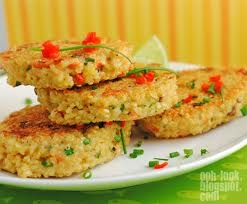 Chicken/Quinoa Patty Cakes