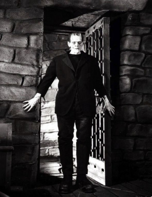 Boris Karloff  Frankenstein is alive!