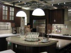 Multi level kitchen island
