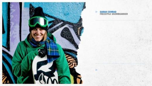 Sarah Conrad - picked for Canada Snowboard Team - Olympics 2010
