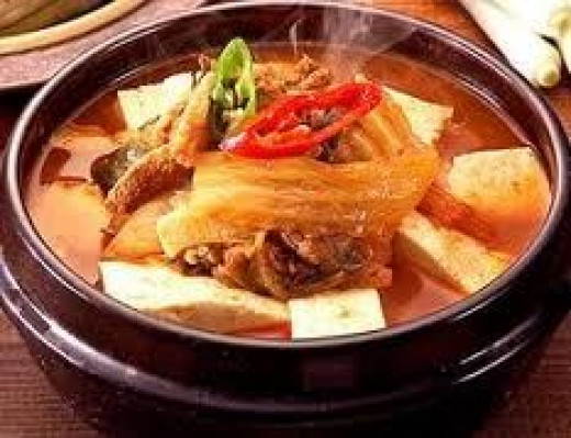 kimchi chigae, south korea, korean food, spicy korean food