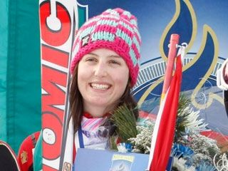 Kelsey Serwa of Kelowna, B.C. was the winner of the Ski Cross in the last World Cup before the Games.  We are the best team out there.  said Serwa.