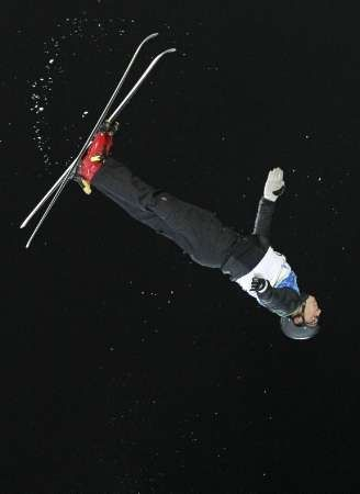Alexei Grishin of Belarus - Gold medalist in Men's freestyle aerials - Feb.25,2010 Olympics
