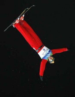 Lui Zhongqing of China - Bronze medalist in Men's Freestyle Aerials -2010 Olympics