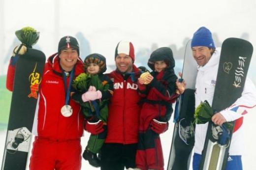 PGS - Benjamin Karl, Jayse-Jay and his two daughters, Jara and Ji,and Mathieu Bozzetto.
