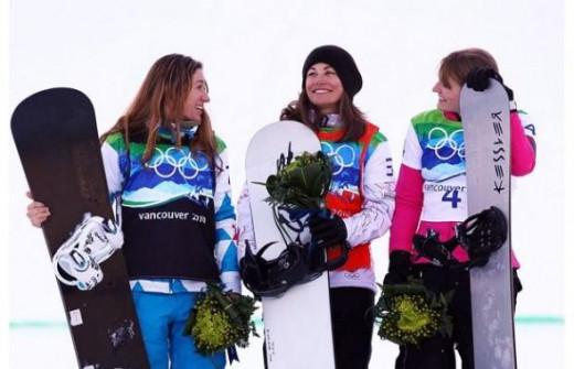 Maelle Ricker - Gold - Women's Snowboard Cross