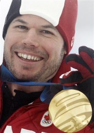 Jasey -Jay Anderson won Gold in Men's Snowboard Giant Slalom - Feb.27, 2010