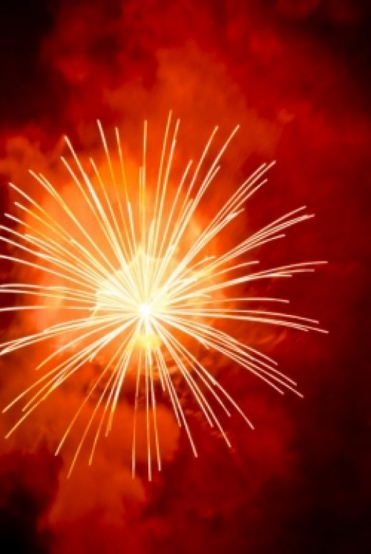 New Years Fireworks by ericortner on sxc